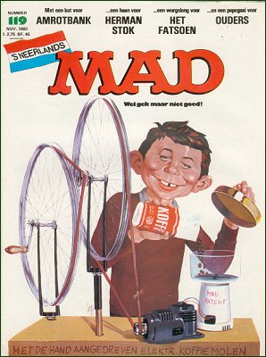 MAD Magazine #119 • Netherlands • 1st Edition
