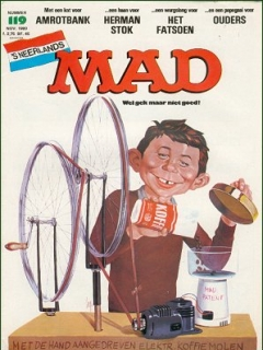 Go to MAD Magazine #119 • Netherlands • 1st Edition