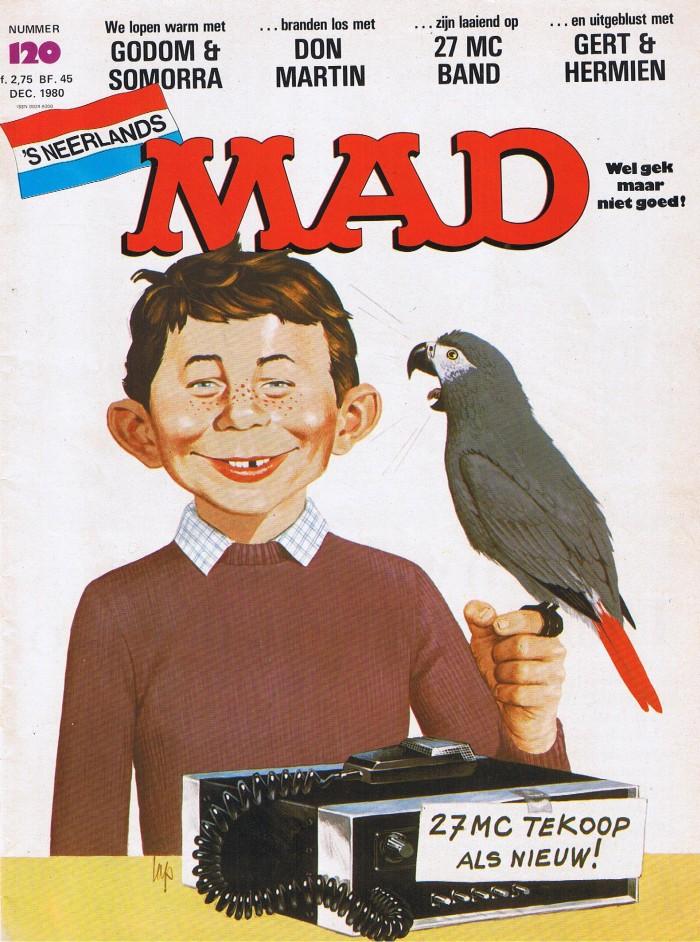 MAD Magazine #120 • Netherlands • 1st Edition
