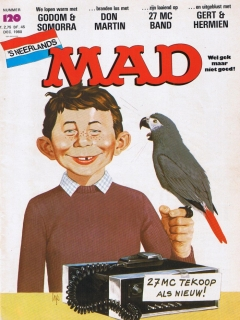 Go to MAD Magazine #120 • Netherlands • 1st Edition