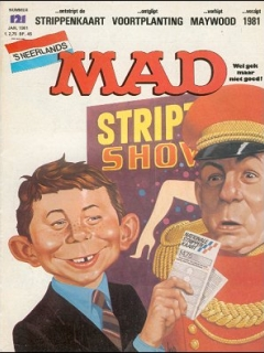 Go to MAD Magazine #121 • Netherlands • 1st Edition