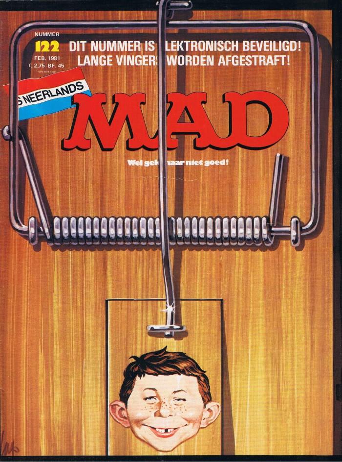 MAD Magazine #122 • Netherlands • 1st Edition