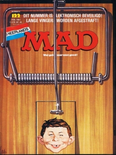 Go to MAD Magazine #122 • Netherlands • 1st Edition
