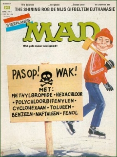 Go to MAD Magazine #123 • Netherlands • 1st Edition