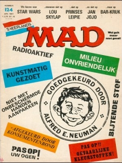 Go to MAD Magazine #124 • Netherlands • 1st Edition