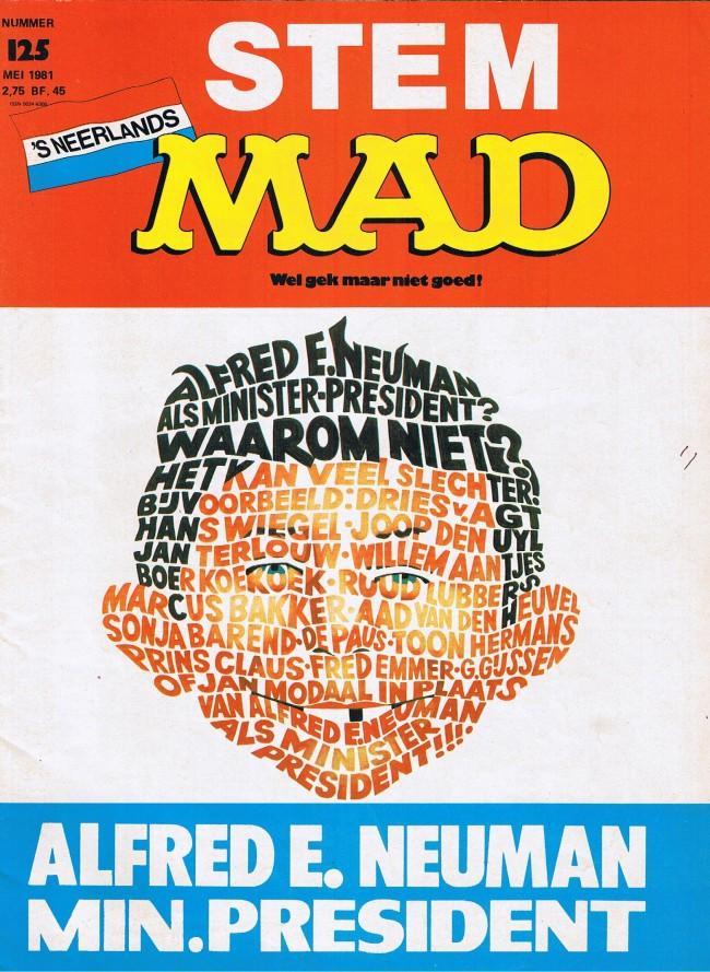 MAD Magazine #125 • Netherlands • 1st Edition