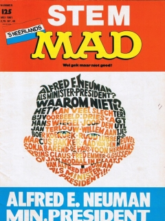 Go to MAD Magazine #125 • Netherlands • 1st Edition