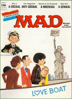 MAD Magazine #126 • Netherlands • 1st Edition
