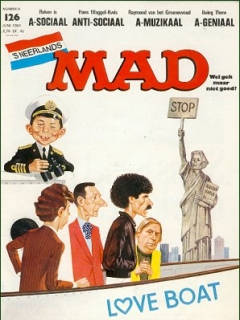 Go to MAD Magazine #126 • Netherlands • 1st Edition