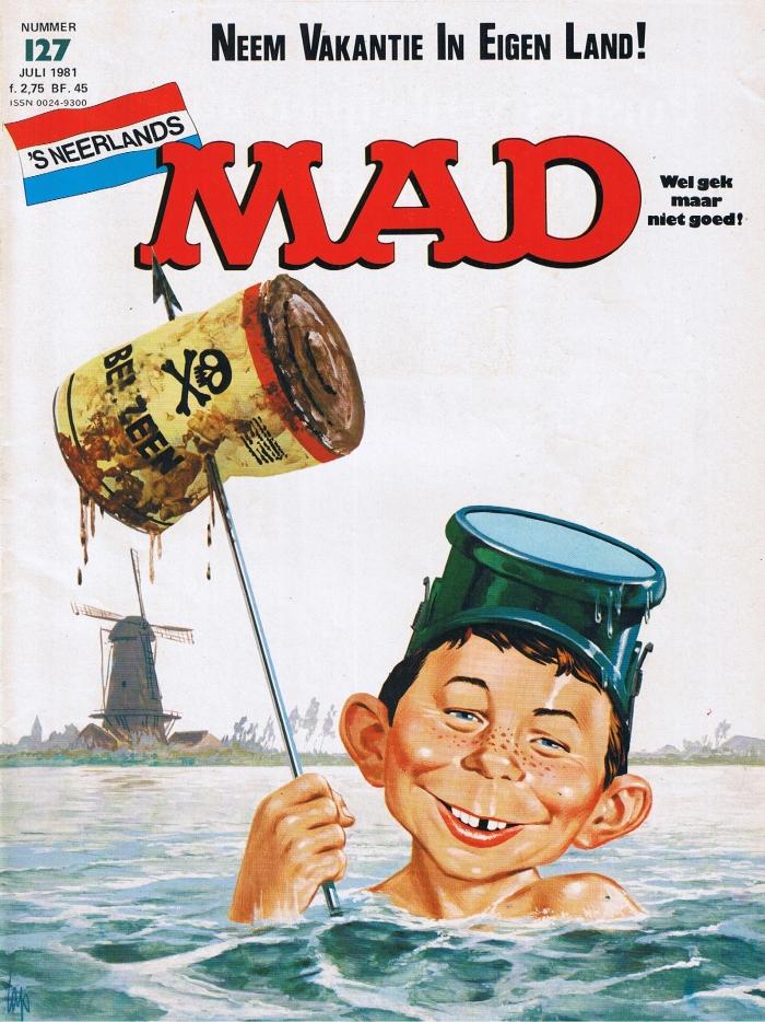 MAD Magazine #127 • Netherlands • 1st Edition