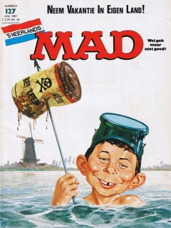 Go to MAD Magazine #127 • Netherlands • 1st Edition