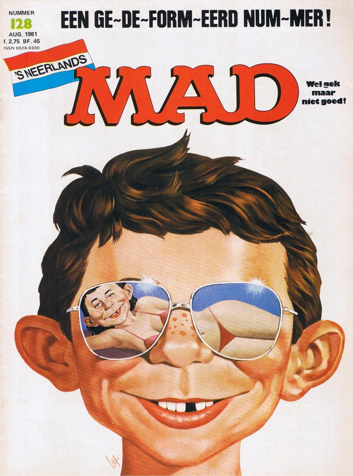 MAD Magazine #128 • Netherlands • 1st Edition