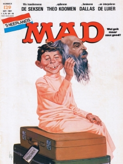 Go to MAD Magazine #129 • Netherlands • 1st Edition