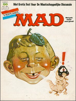 MAD Magazine #130 • Netherlands • 1st Edition