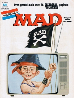 Go to MAD Magazine #131 • Netherlands • 1st Edition