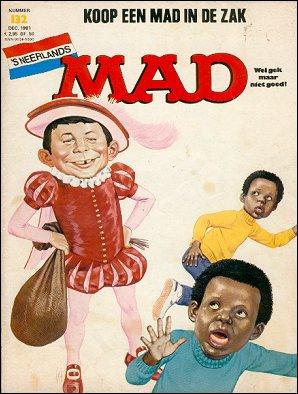 MAD Magazine #132 • Netherlands • 1st Edition