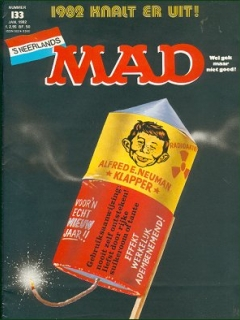 Go to MAD Magazine #133 • Netherlands • 1st Edition