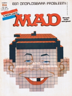 Go to MAD Magazine #134 • Netherlands • 1st Edition