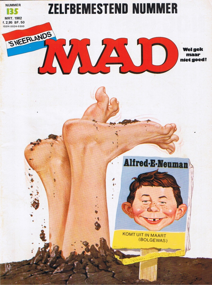MAD Magazine #135 • Netherlands • 1st Edition
