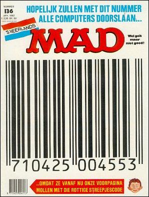 MAD Magazine #136 • Netherlands • 1st Edition