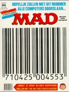 Go to MAD Magazine #136 • Netherlands • 1st Edition