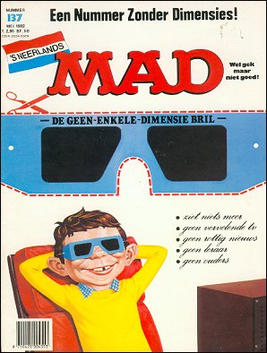 MAD Magazine #137 • Netherlands • 1st Edition