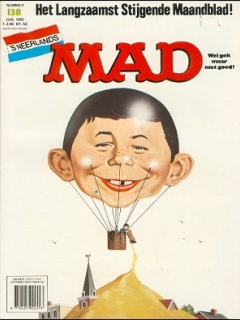 Go to MAD Magazine #138 • Netherlands • 1st Edition