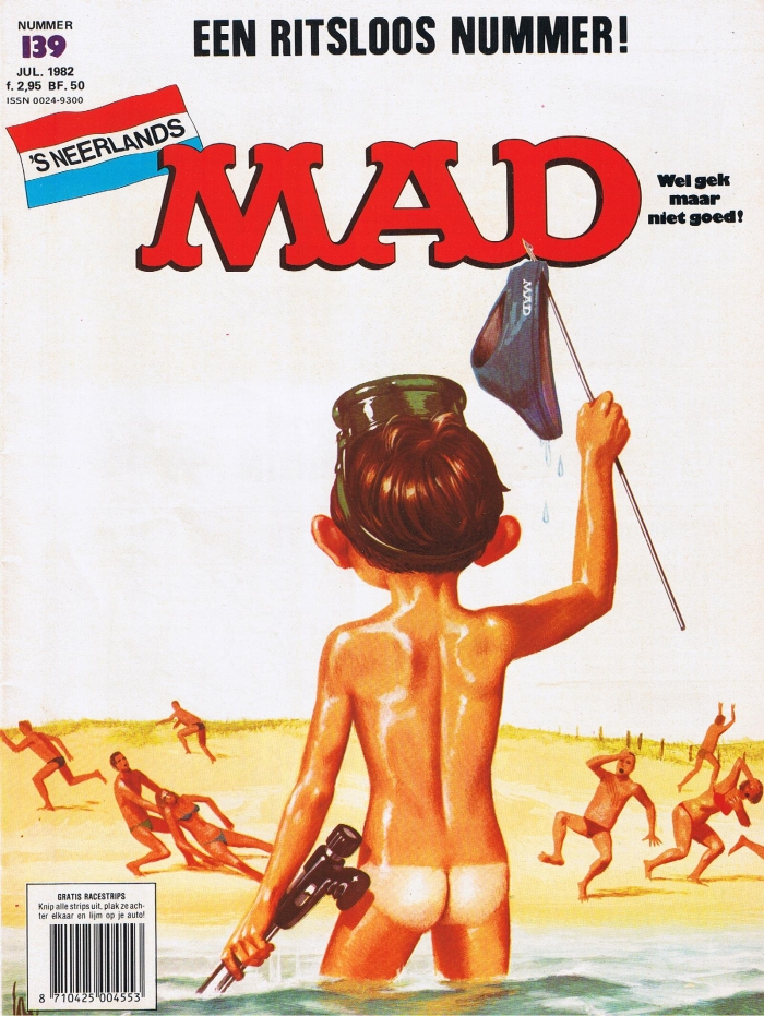 MAD Magazine #139 • Netherlands • 1st Edition