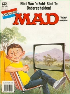 Go to MAD Magazine #140 • Netherlands • 1st Edition