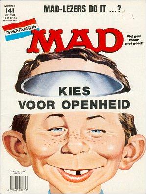 MAD Magazine #141 • Netherlands • 1st Edition