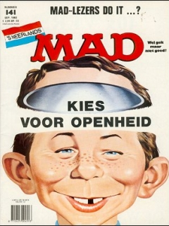 Go to MAD Magazine #141 • Netherlands • 1st Edition