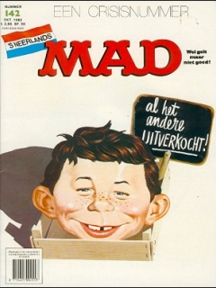 Go to MAD Magazine #142 • Netherlands • 1st Edition