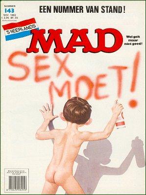 MAD Magazine #143 • Netherlands • 1st Edition