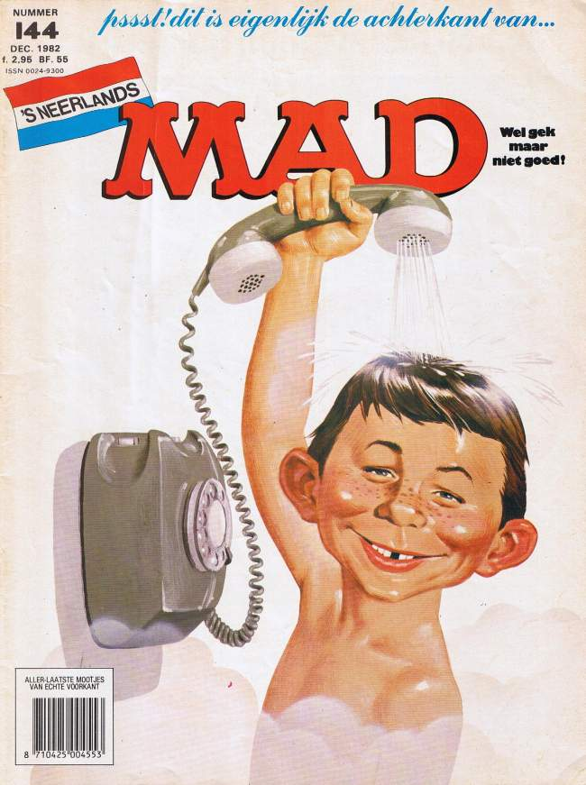 MAD Magazine #144 • Netherlands • 1st Edition