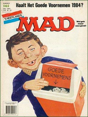 MAD Magazine #145 • Netherlands • 1st Edition