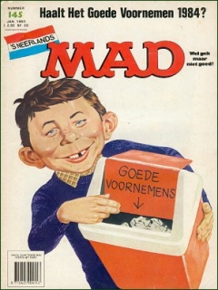 Go to MAD Magazine #145 • Netherlands • 1st Edition