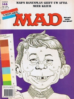 Go to MAD Magazine #146 • Netherlands • 1st Edition