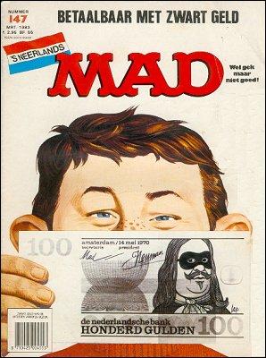 MAD Magazine #147 • Netherlands • 1st Edition
