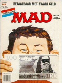 Go to MAD Magazine #147 • Netherlands • 1st Edition