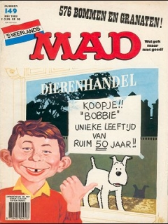 Go to MAD Magazine #149 • Netherlands • 1st Edition