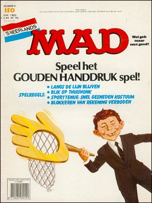 MAD Magazine #150 • Netherlands • 1st Edition