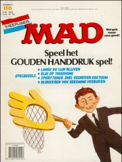 Go to MAD Magazine #150 • Netherlands • 1st Edition