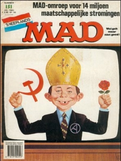Go to MAD Magazine #151 • Netherlands • 1st Edition