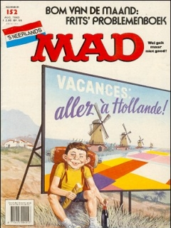 Go to MAD Magazine #152 • Netherlands • 1st Edition