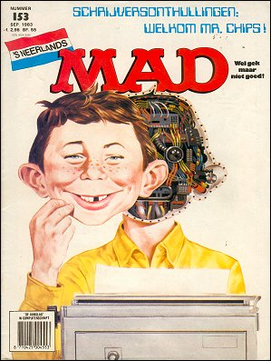 MAD Magazine #153 • Netherlands • 1st Edition