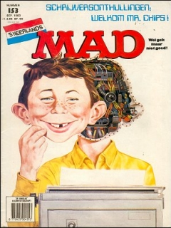 Go to MAD Magazine #153 • Netherlands • 1st Edition