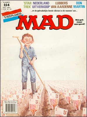 MAD Magazine #154 • Netherlands • 1st Edition