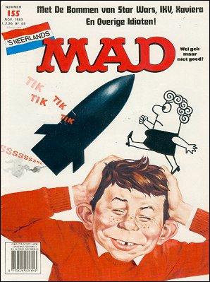 MAD Magazine #155 • Netherlands • 1st Edition