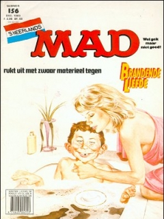 Go to MAD Magazine #156 • Netherlands • 1st Edition