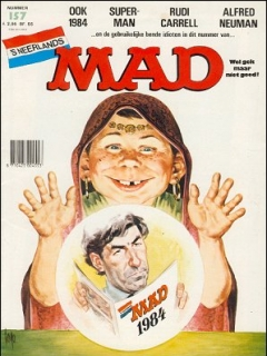 Go to MAD Magazine #157 • Netherlands • 1st Edition
